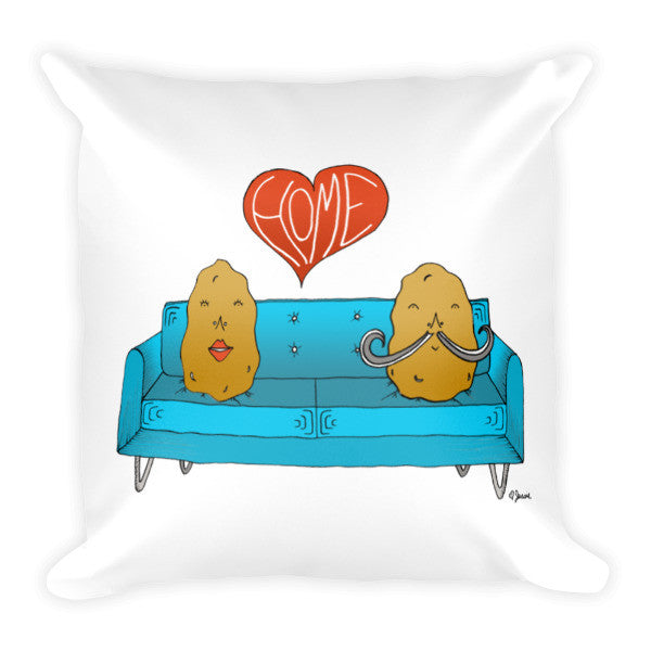 Couch Potato Home Pillow - Jessie husband