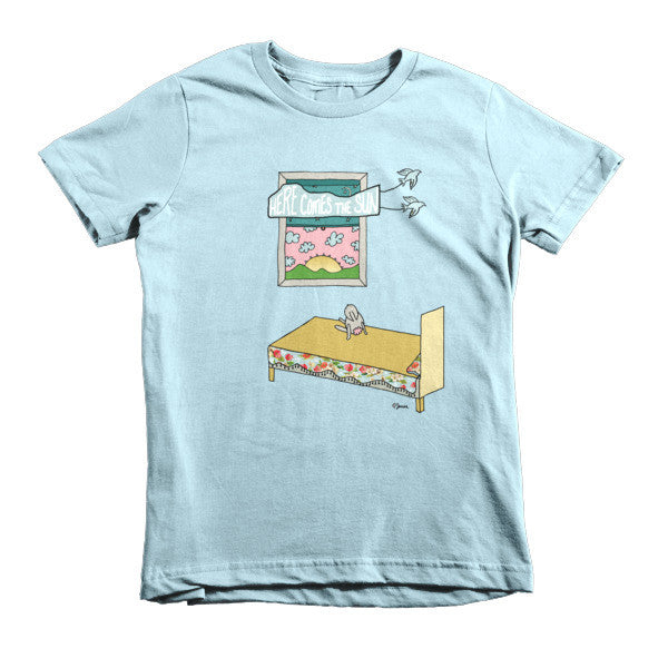 Here comes the sun - Short sleeve kids t-shirt - Jessie husband