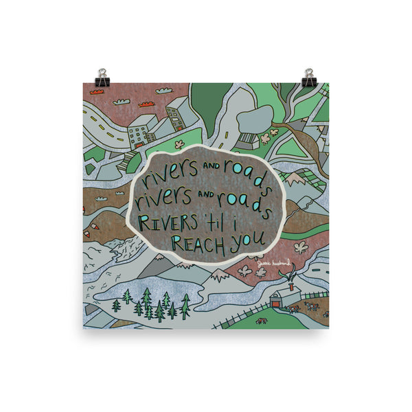 Rivers and Roads, The Head and the Heart Lyrics