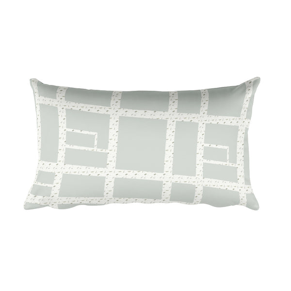 Philly Gayborhood Map Rectangular Pillow - Jessie husband