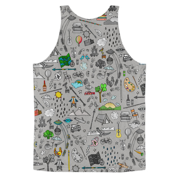 Favorite things Classic fit tank top (unisex) - Jessie husband