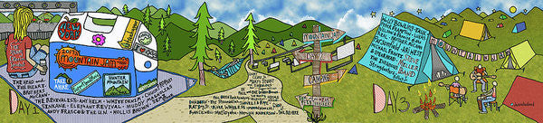 Mountain Jam Print - Jessie husband