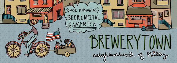 Map Of Brewerytown, Philadelphia - Jessie husband