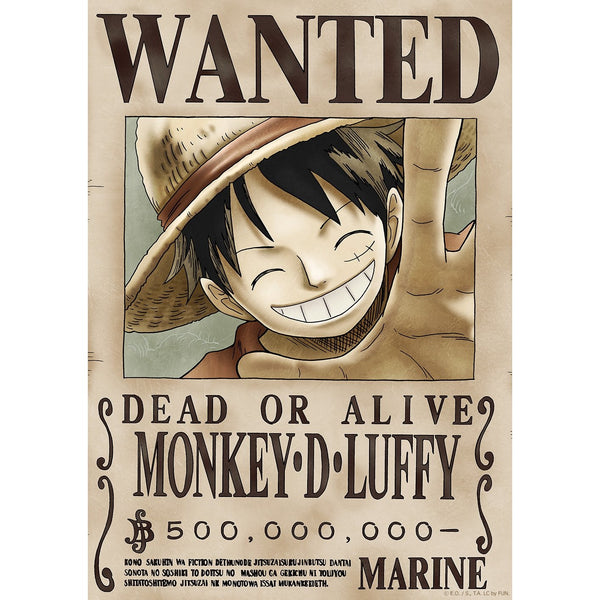 ONE PIECE Wanted Stick & Peel Poster: New World (Official