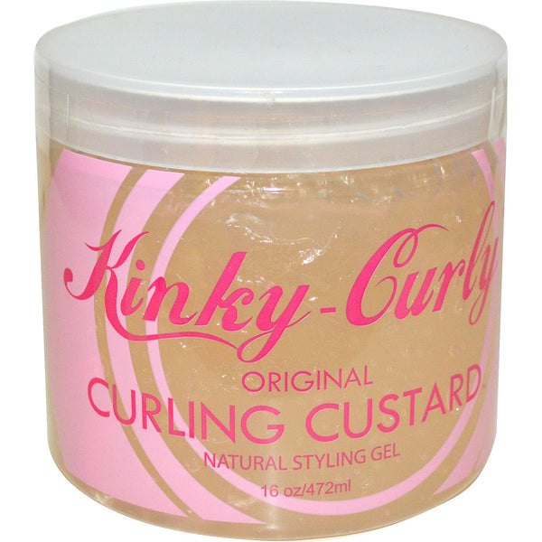 KINKY CURLING CUSTARD GEL 16oz - Delineation