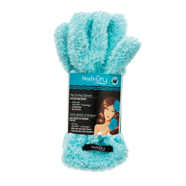 STUDIO DRY HAIR GLOVES (blue) - Delineation