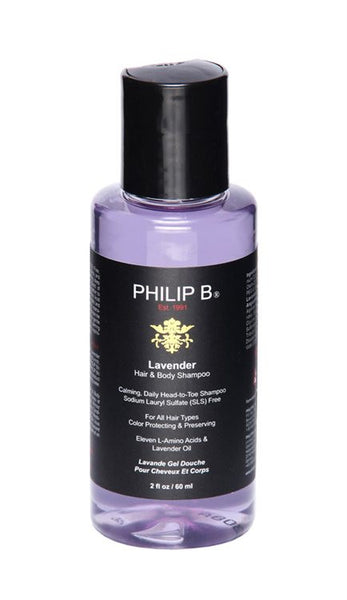 PHILIP-B- Lavender Shampoo 60ml - Delineation