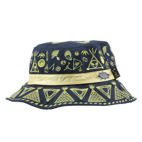 Space Jesus x Grassroots Reversible Bucket Hat