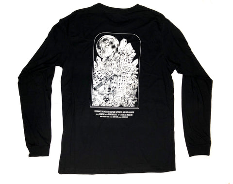 Long-Sleeve Halloween Shirt w/ Embroidered Front