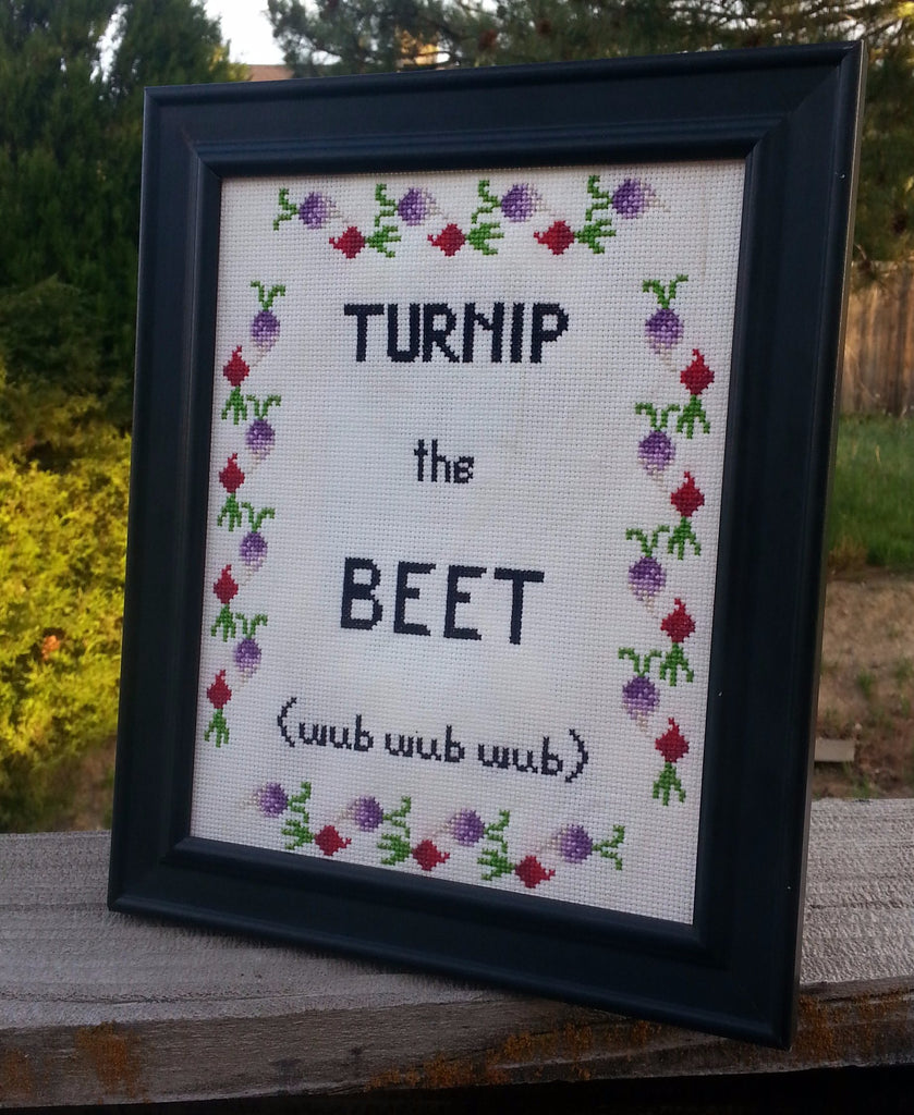 Turnip the Beet - Cross Stitch Kit