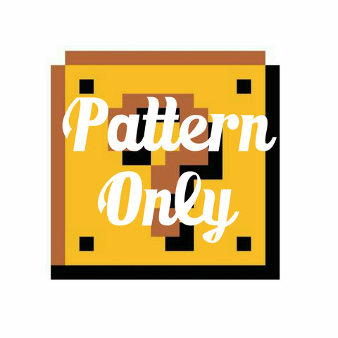 Nintendo StitchAlong - Pattern Only