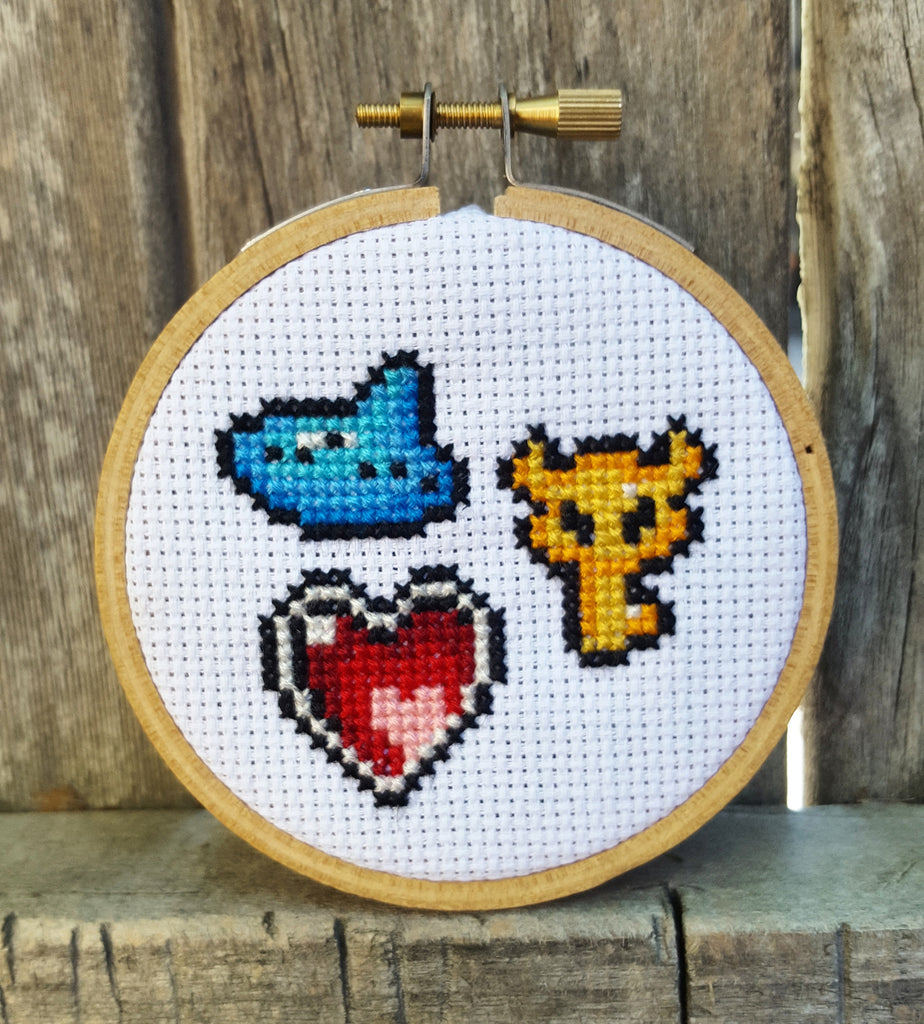 Zelda Tools - Cross Stitch Pattern Download