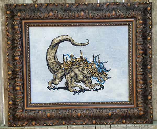 Final Fantasy Atma Weapon - Cross Stitch Kit