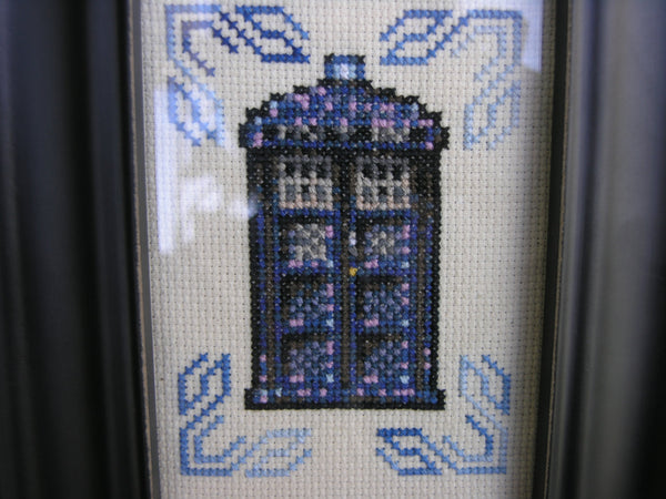 TARDIS Sampler - Cross Stitch Kit