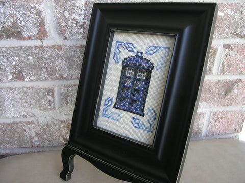 TARDIS Sampler - Cross Stitch Pattern Download