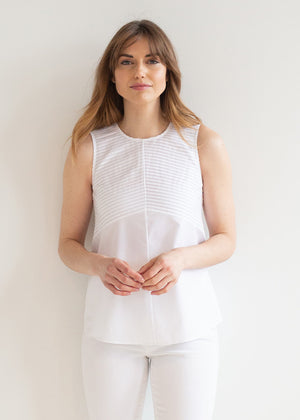 The Cotton Plissé Tunic