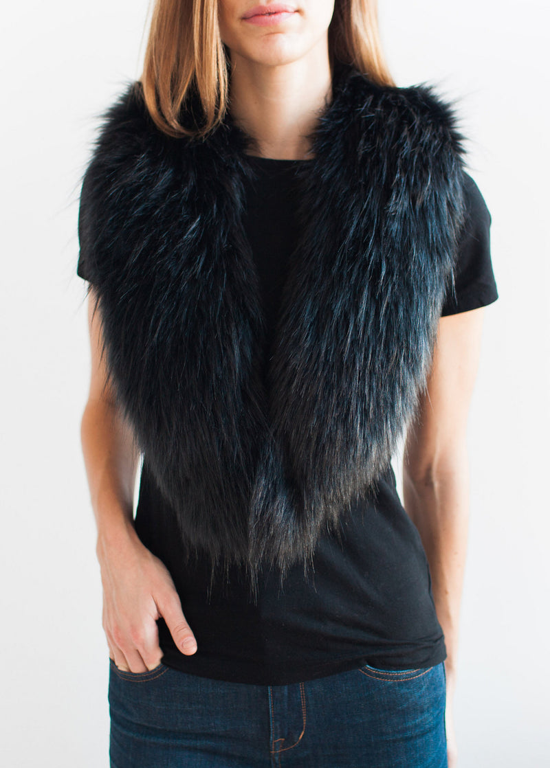 The Faux Fur Collar