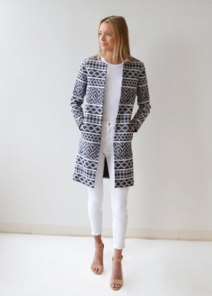 The Aztec Jacquard Tailored Jacket