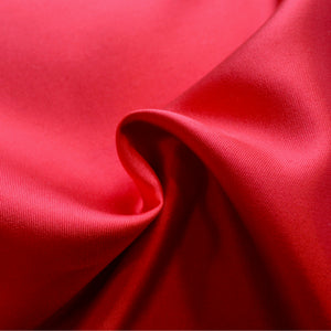 Heavy Silk Wool - Lipstick Red