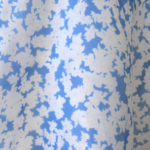 Sweet Floral Organza - Soft Blue