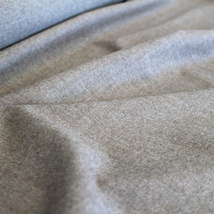 Soft Wool Flannel - Cocoa