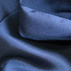 Heavy Silk Wool - Navy