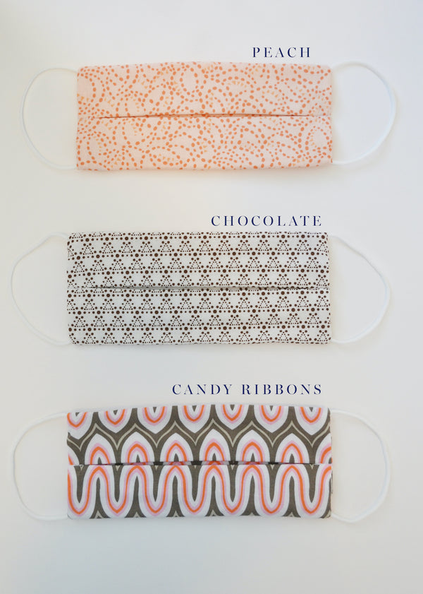 Reusable Face Mask (2 pack) - Cotton Prints