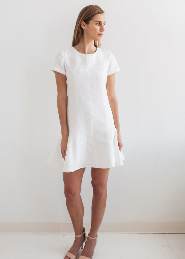The Vertical Seam Side Flare Dress