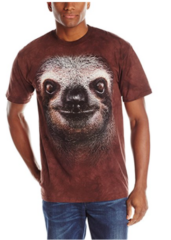 sloth animal t-shirts