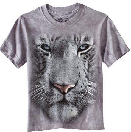 tiger face animal t-shirts