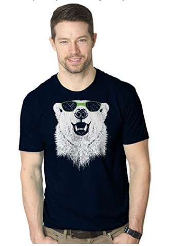 polar bear animal t-shirts