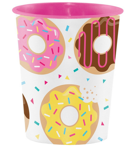 donut party cup