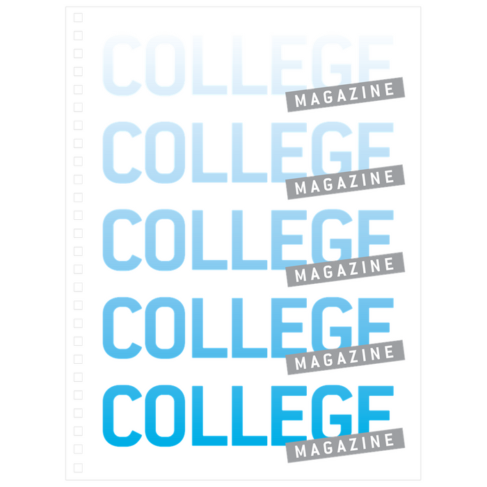 College Magazine Notebook