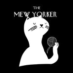 Mew Yorker Throw Pillow