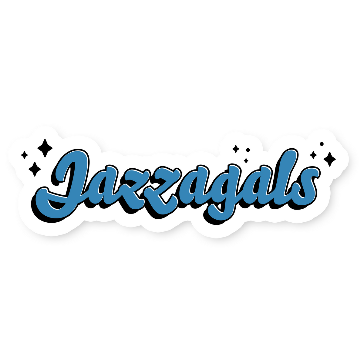 Jazzagals Sticker