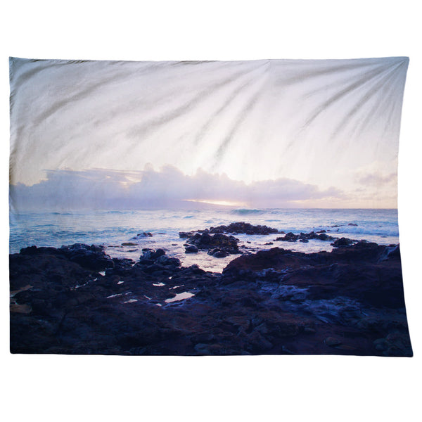 Ocean Sunset Tapestry