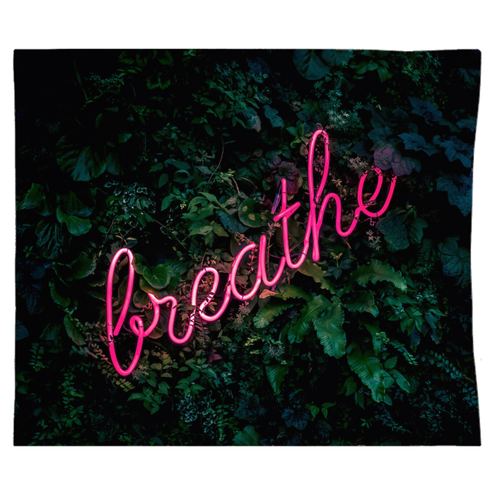 Neon Breathe Tapestry