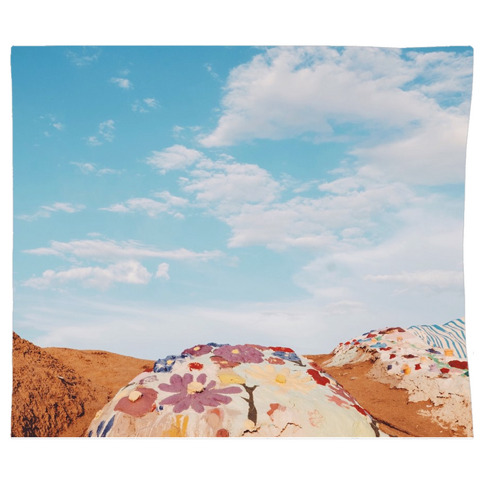 Salvation Mountain Tapestry