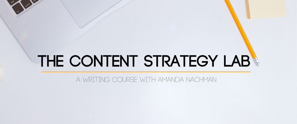 The Content Strategy Lab