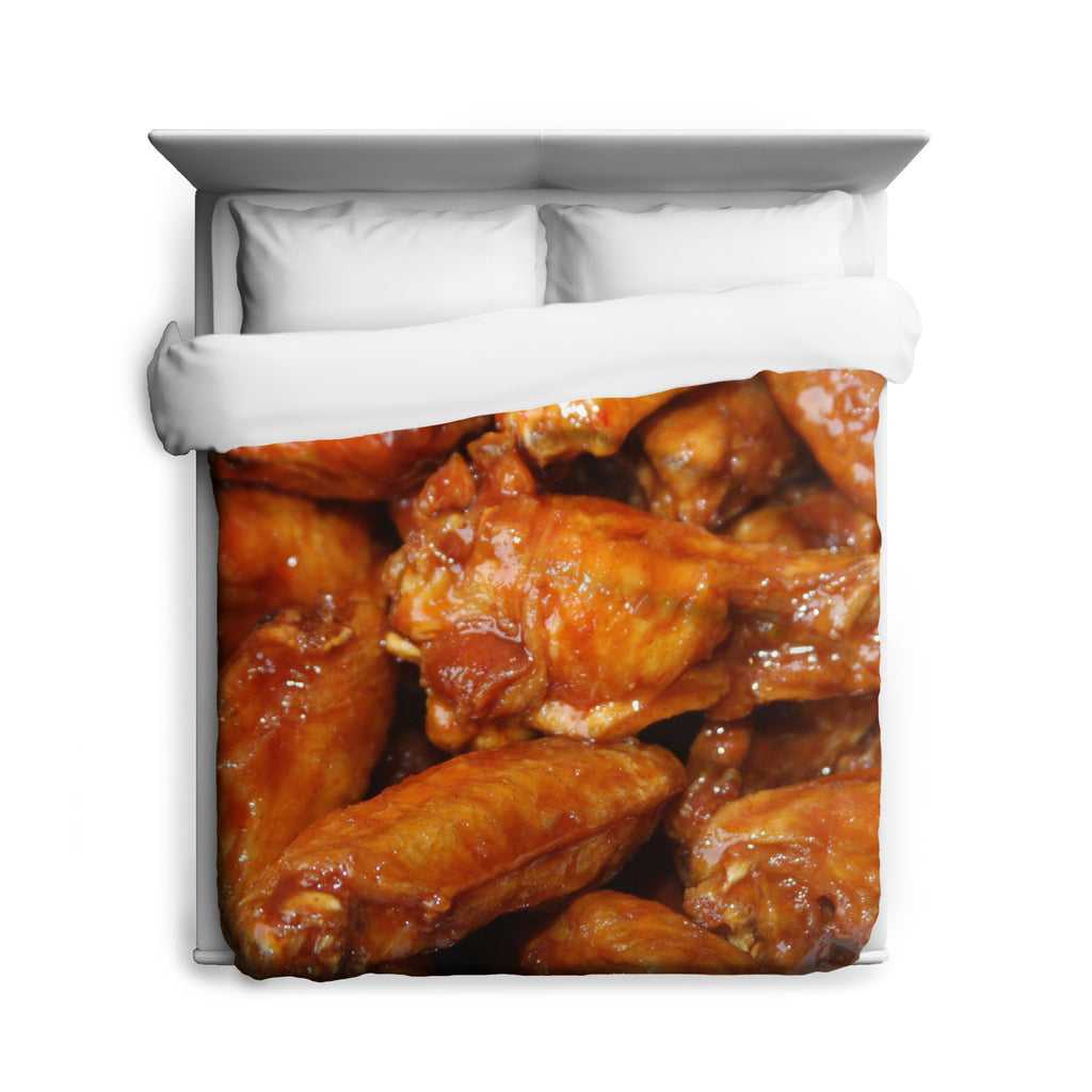 Buffalo Wings Duvet Cover