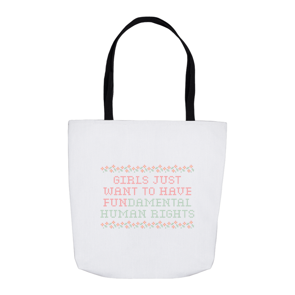 Fundamental Rights Tote Bag