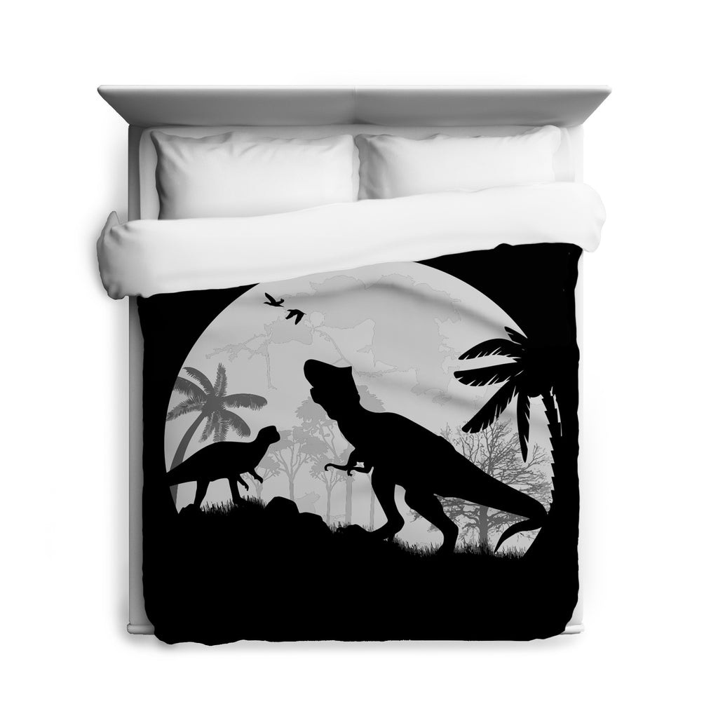 Dino Night Duvet Cover