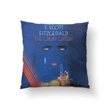 Great Gatsby Throw Pillow