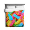 Gummy Worms Duvet Cover