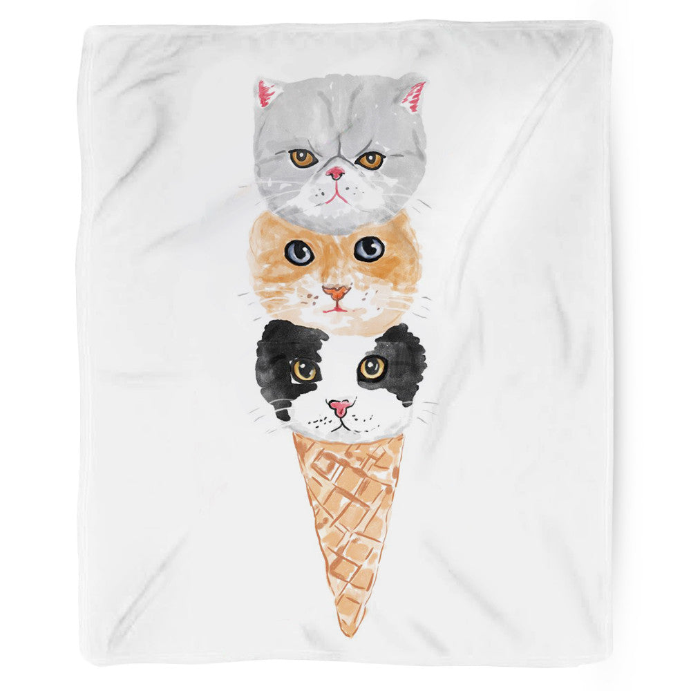 Kitty Cone Blanket