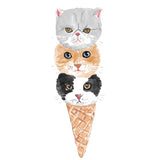 Kitty Cone Duvet Cover
