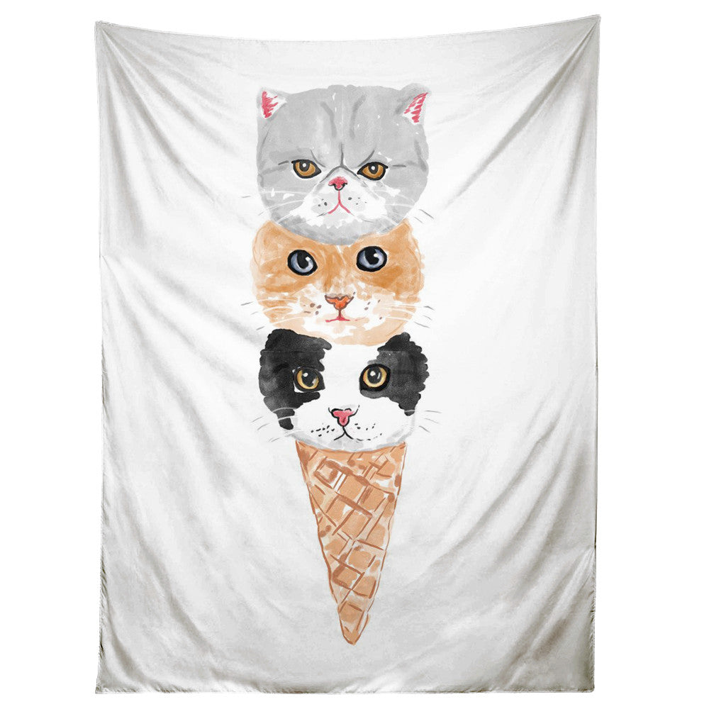 Kitty Cone Tapestry
