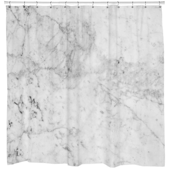 Marble Shower Curtain College Magazine Shop