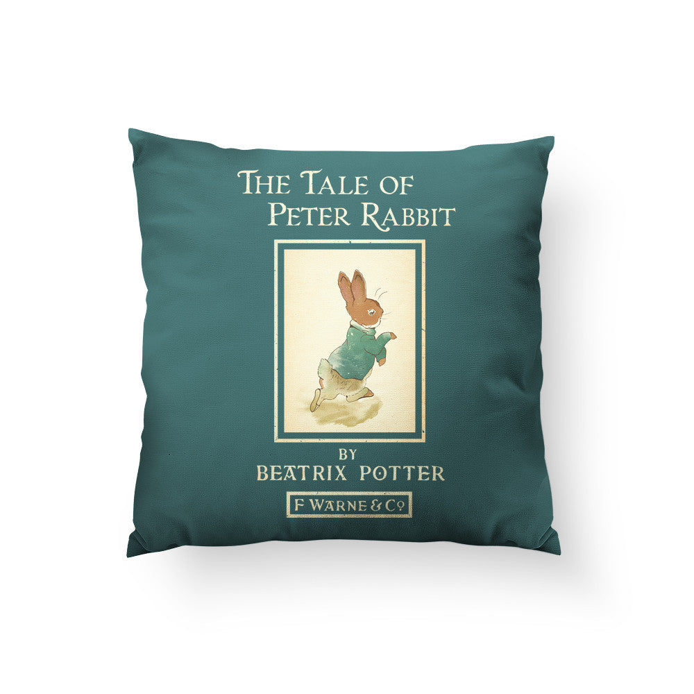 Peter Rabbit Throw Pillow