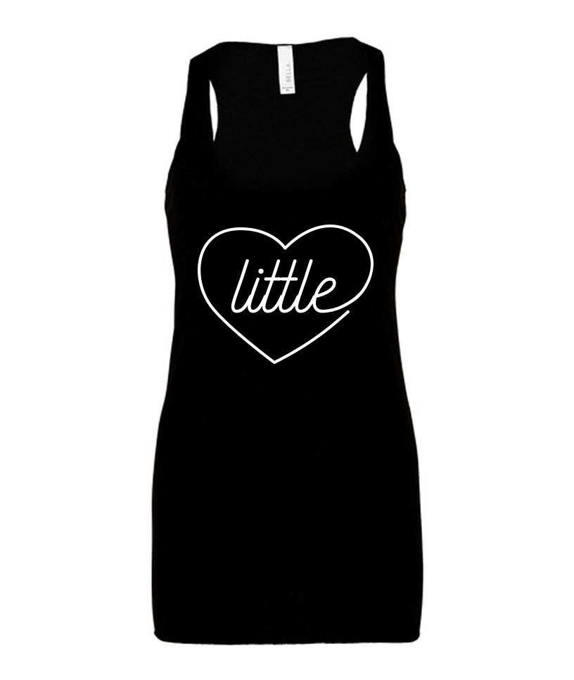 Little Sister Racerback Tank Top